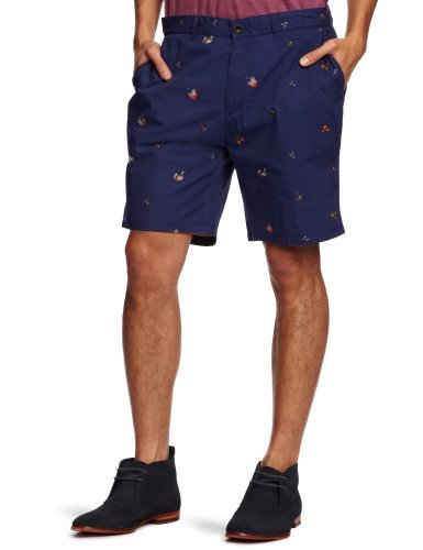 Farah Vintage The Hobart Men's Shorts Dark Indigo W32 IN