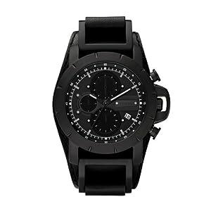 Fossil JR1223 Jake Leather Watch - Black