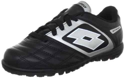 lotto-sport-stadio-potenii-700-tf-jr-q1319-jungen-sportschuhe-fussball-schwarz-black-silver-eu-36