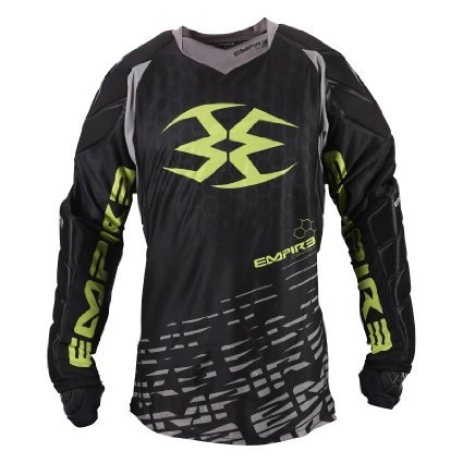 Empire Paintball Contact F5 Jersey - Black/Lime - 3XL