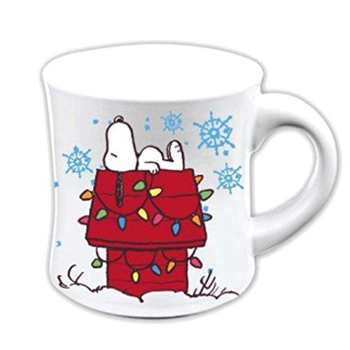 Snoopy Christmas Home Sweet Home 12 Oz. Fluted Mug