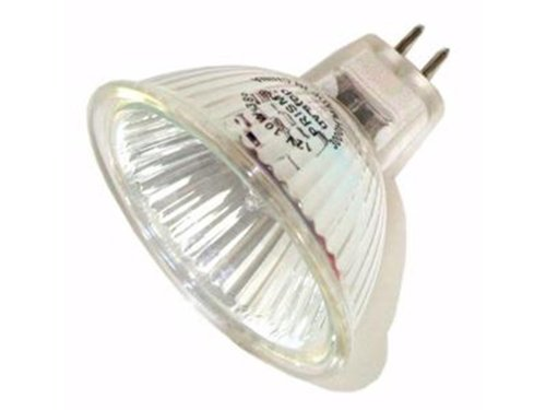10 Qty. Halco 10W Mr16 Fl Lns 12V Gu5.3 Prsm Mr16Fl10/L 10W 12V Halogen Flood W/Lens Lamp Bulb