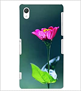 PrintDhaba Flowers D-2443 Back Case Cover for SONY XPERIA Z3 (Multi-Coloured)