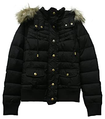3d6975d46e0c Hello friend, Do you wish to buy Juicy Couture Hooded Puffer Jacket with Faux  Fur Hood Black? You come to the best place. Since i have done sellect the  ...