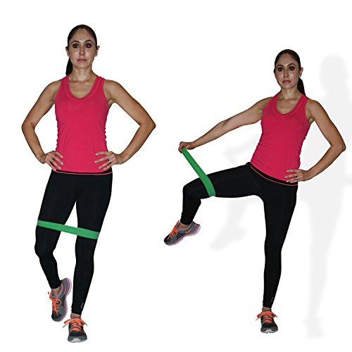 Set Of 5 Exercise Bands Premium Quality Fitness Exercise