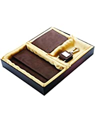 SUSHA 3 In 1 GIFT SET (SS-807) (Gents Wallet, Ladies Wallet, Key Ring)