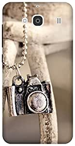 The Racoon Lean printed designer hard back mobile phone case cover for Xiaomi Redmi 2. (locket cam)