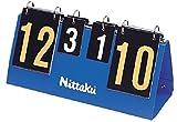ニッタク(Nittaku) 卓球 得点板 ミニカラーカウンター11 ブルー NT3714 9