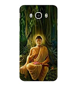 ifasho Lord Budha Back Case Cover for Samsung Galaxy On8