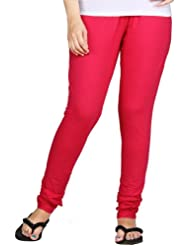 Clifton Women Stretch Cotton Legging - Dark Pink