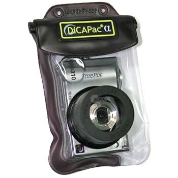 Dicapac Waterproof Digital Camera Case Fujifilm FinePix A350 A345 F10 F11 F20 F30 F47 F31fd F40fd F45fd F50fd F100fd F420 F650 V10 Olympus Camedia C-60z C-370 C-480 C-500z X-1 X-2 X-3 X-350 X-450 X-550 X-825 X-855 FE 310