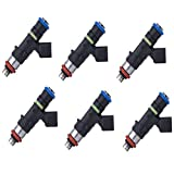 AAP Re-Manufactured Set of 6 OEM Bosch Fuel Injectors 2005-2010 Ford Mustang 4.0L V6#0280158055