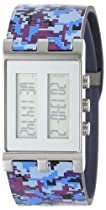 EOS New York Unisex 120SPUR Binary Digital Watch