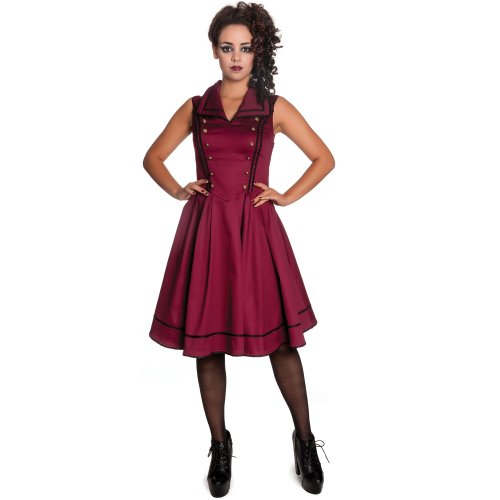 Spin Doctor dell'abito NASTASYA burgundy DRESS Burgundy Medium
