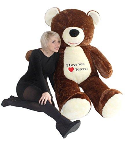 riesen-teddybar-pluschtier-stofftier-mit-stickerei-braun-170cm-gross