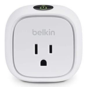 Belkin WeMo Insight Switch, Control Your Electronics and Monitor Energy Usage From Anywhere with the Home Automation App for Smartphones and Tablets, Wi-Fi Enabled