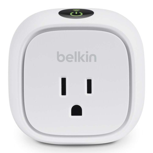 Belkin WeMo Insight Switch, Control Your Electronics and Monitor Energy Usage From Anywhere with the Home Automation App for Smartphones and Tablets, Wi-Fi Enabled, Compatible with Amazon Echo