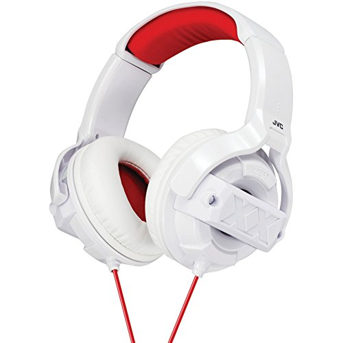 Jvc Ham55Xw Xtreme Xplosives Around-Ear Headphones (White)