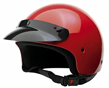 Bottari Moto 64414 Casque Trek, Rouge, Taille : L