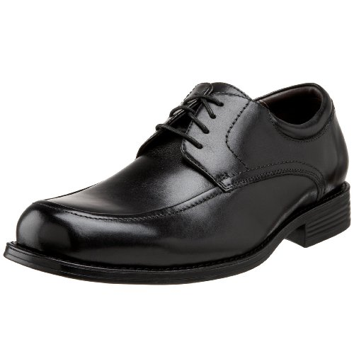 Johnston & Murphy Men's Atchison Moc-Toe Oxford,Black Calf,13 M US
