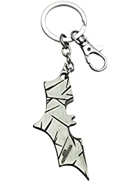Quoface Silver Metal Key Chain For Men