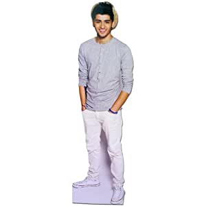 Amazon.com: One Direction 1D 'Zayn' Brands Desktop Standee Cardboard