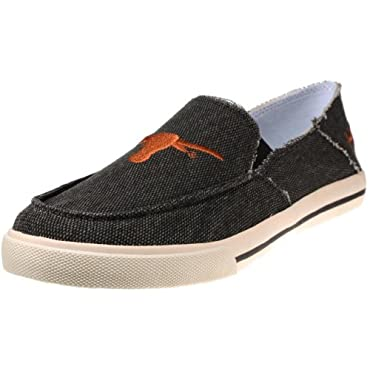Campus Cruzerz Drifter Texas Longhorns Men's Canvas Loafer