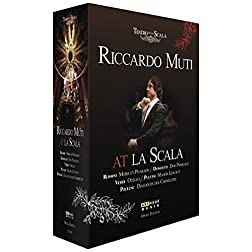 Riccardo Muti at La Scala 5 DVD Box Set
