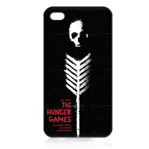 Hunger Games Hard Case Cover for Iphone 4 4s 4th Generation - Free Plastic Retail Packaging Box
