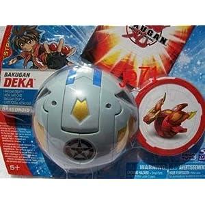 Bakugan Battle Brawlers - Deka Pack - PYRO DRAGONOID (HAOS - Grey)