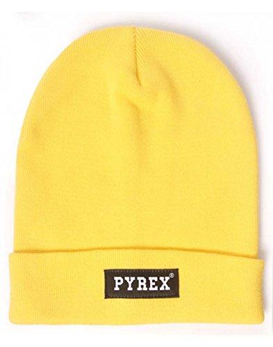 pyrex-cappello-berretto-giallo
