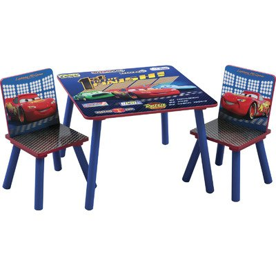 Delta Disney Cars Square Table And Chair Set front-412209