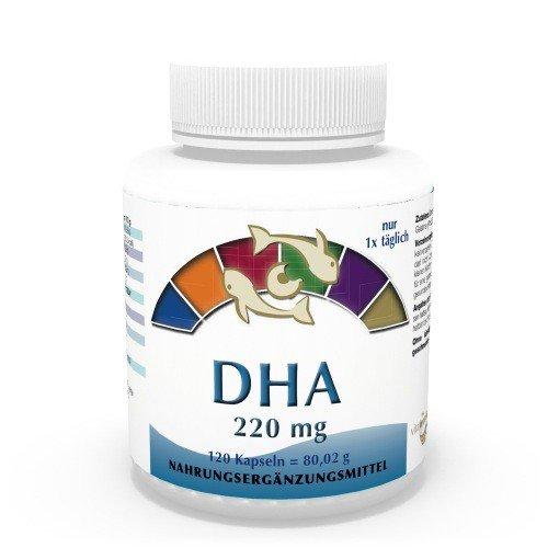 Vita World Omega 3 DHA 220mg 120 Kapseln Apotheken Herstellung