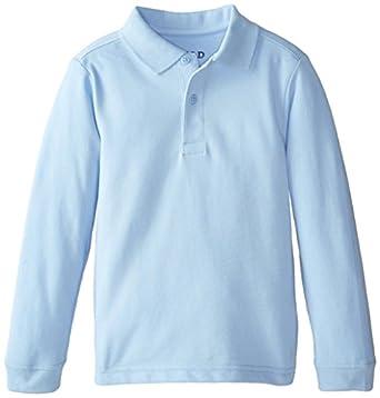 Izod Little Boys 39 Long Sleeve Uniform Polo