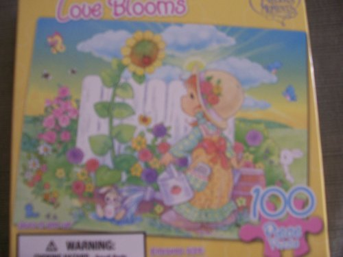 Precious Moments 100 Piece Puzzle ~ Love Blooms