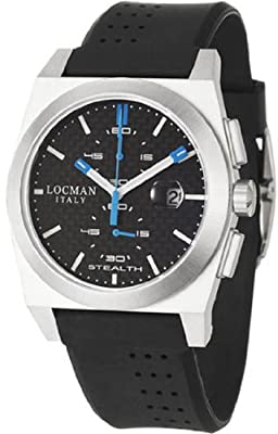 Locman Sport Stealth Men's Quartz Watch 202CRBSKBK