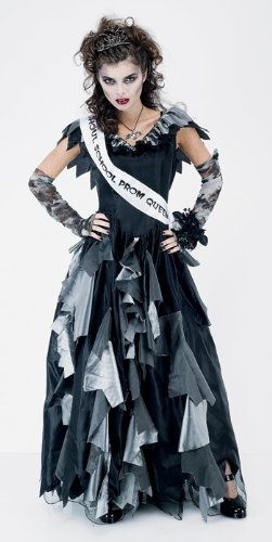 Zombie Prom Queen Womens Large Halloween or Theatre Costume