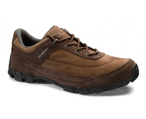 BRASHER Guider Men's Travel Shoes, Brown, UK10
