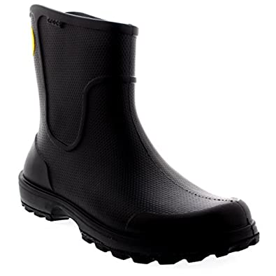 Amazon.com: Mens Crocs Wellie Rain Boot Wellingtons
