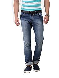 Police Mens Cotton slim Fit Jeans