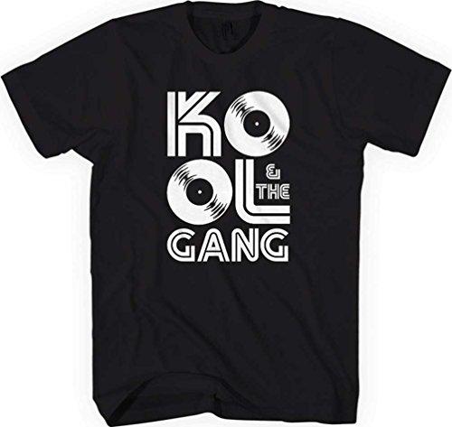 Kool & the Gang - Top - Uomo Black Large