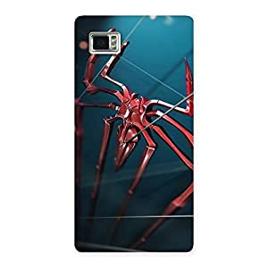 Climbing Spider Multicolor Back Case Cover for Vibe Z2 Pro K920