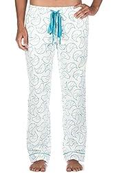 Noble Mount Womens Premium 100% Cotton Flannel Lounge Pants - Cute Patterns