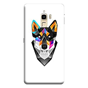 LeEco LeTv 1s Illustrated Color Dog Premium Designer Polycarbonate Hard Back Case Cover with full Protection