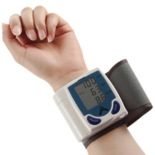 Date, heure et résultats des tests de poignet type pression artérielle numérique automatique moniteur mémoire 60