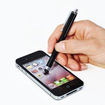 Stylus Touch Bildschirm Eingabe Stift wie iclooly[nur ersatz] multi touch pen stift für Samsung Galaxy S3 LG KM900 Arena,LG GC900 Viewty Smart,LG GD900 Crystal,LG GD880 Mini,LG Optimus 7,LG Optimus 7Q,LG Optimus One P500,LG E720 (schwarz)