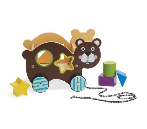 Manhattan Toy Roll-Along-Bear Shape Sorter - 1