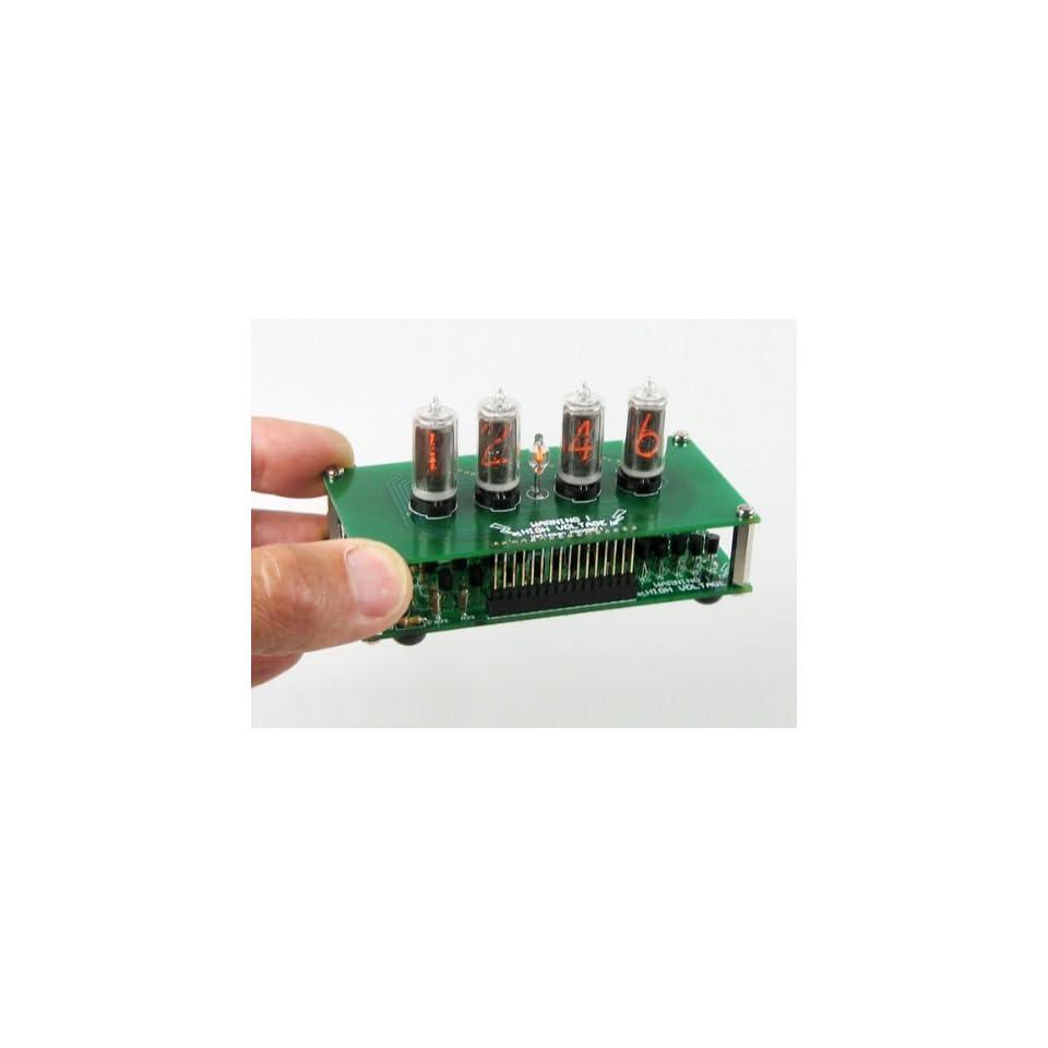 Nixie Clock Kit, 4 digit, ZM1336K tubes, Velleman K8099 on