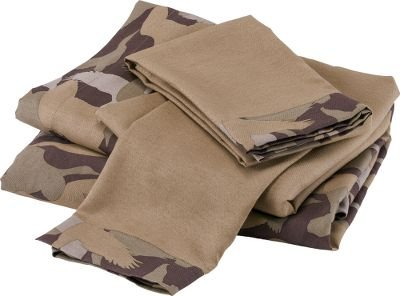 Duck Dynasty Camo Logo Stripe Sheet Set, Twin