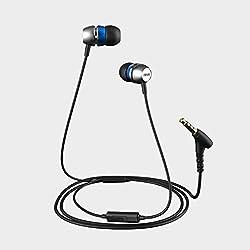 Evidson AudioWear V5 Earphones with Mic Blue